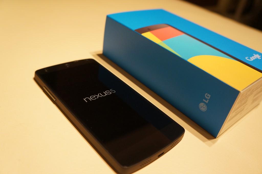 Nexus5-本体と化粧箱