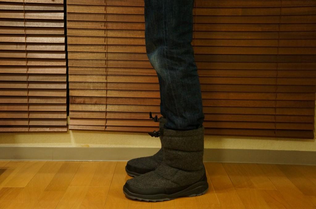 Nuptse Bootie Wool_7