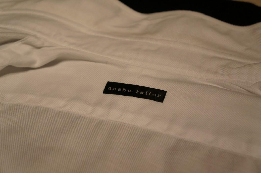 麻布テーラーシャツ