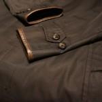 コート袖口補修