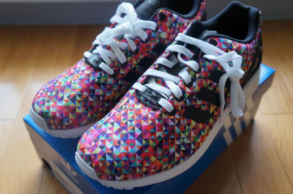 adidas zx flux multicolor