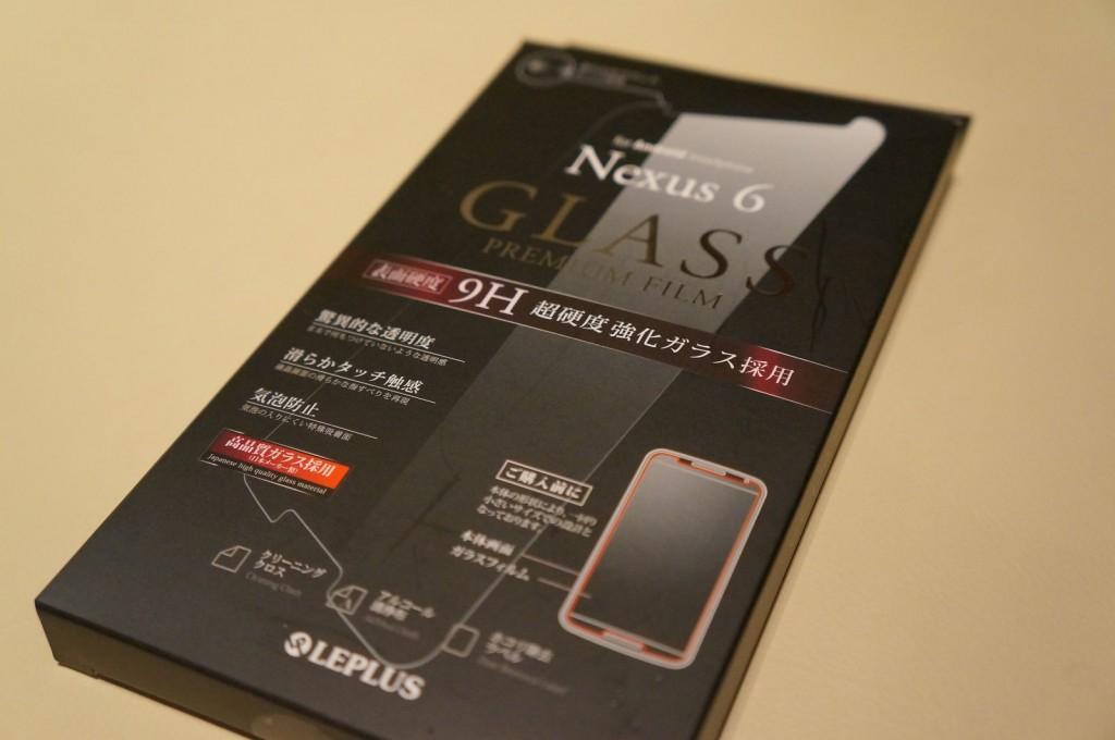 LEPLUS Nexus6保護フィルムガラス