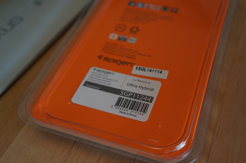 【Nexus 6 ケース】ウルトラ・ハイブリッド