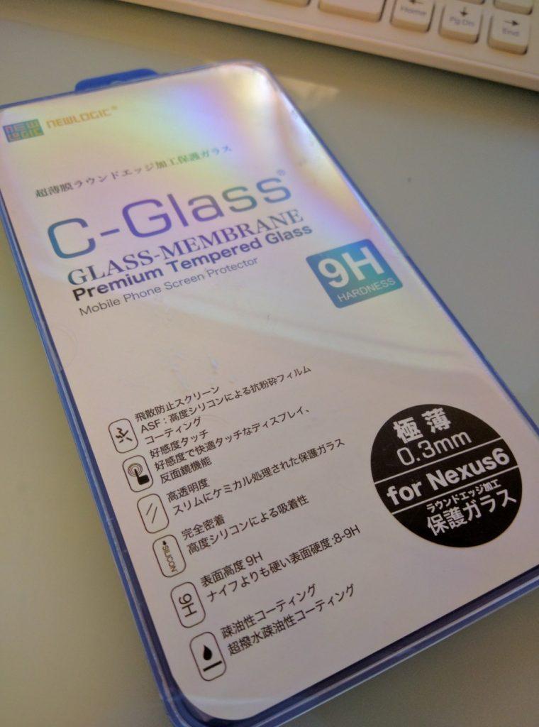 nexus6 ガラスフィルム