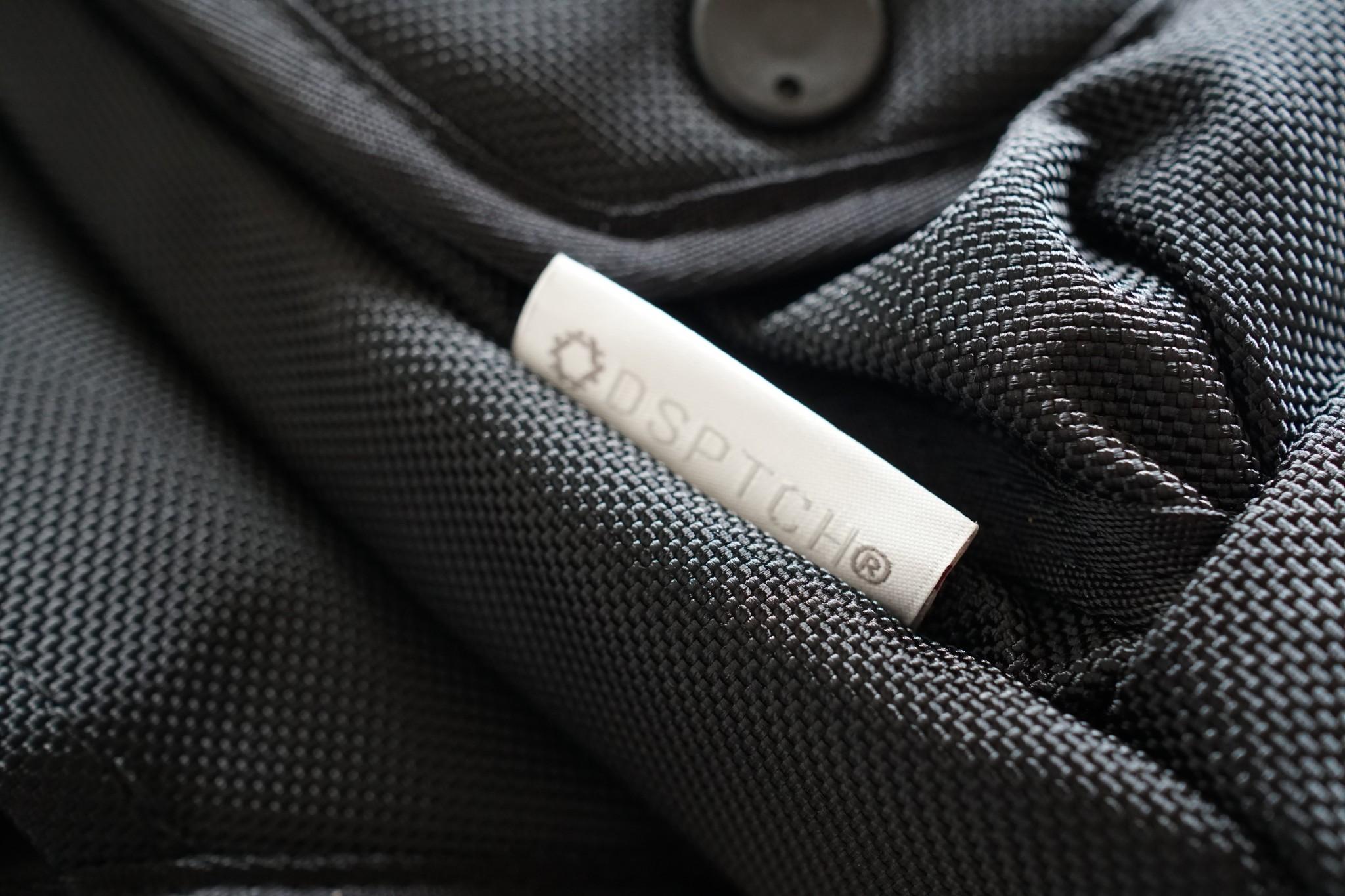 DSPTCH Waist Bag Black